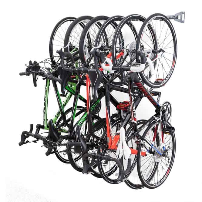 garage organization bike rack