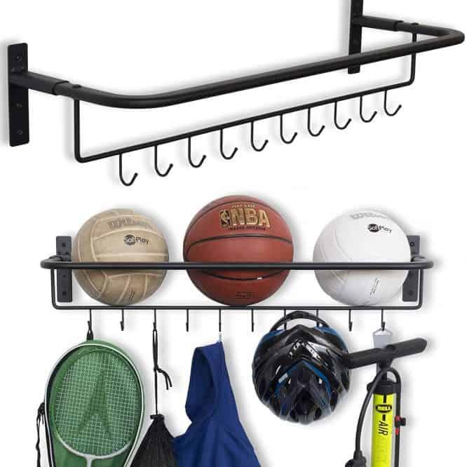 garage organization sports ball storage 1