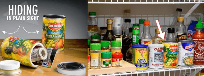 canned fruit secret storage