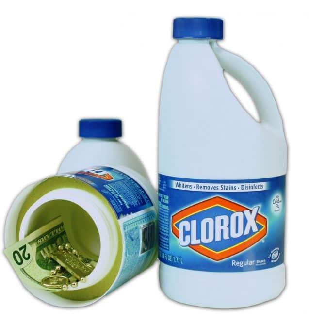 clorox bottle safe