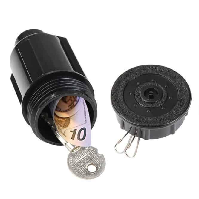 sprinkler head secret safe