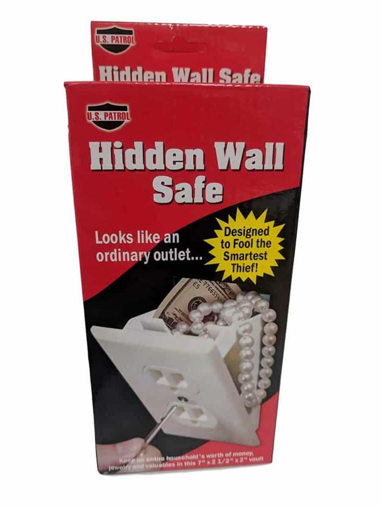 wall outlet concealed safe