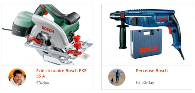 peer to peer tool rental