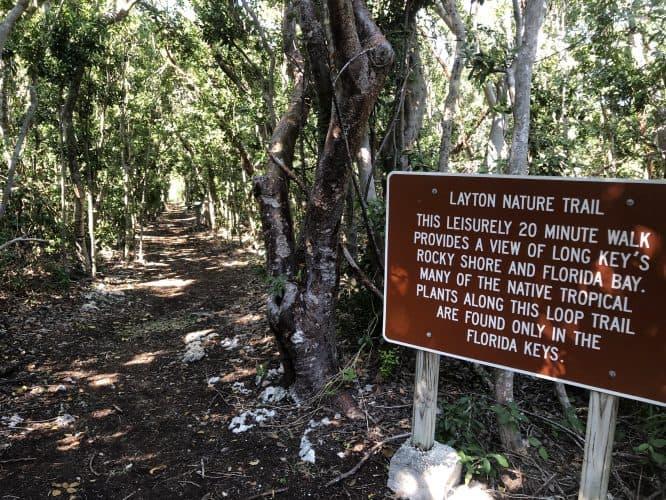 Nature trail on Layton (keys)