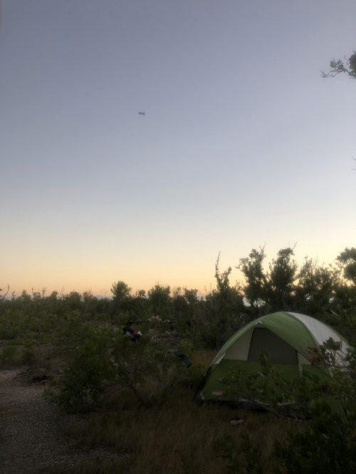 budd key camping spot