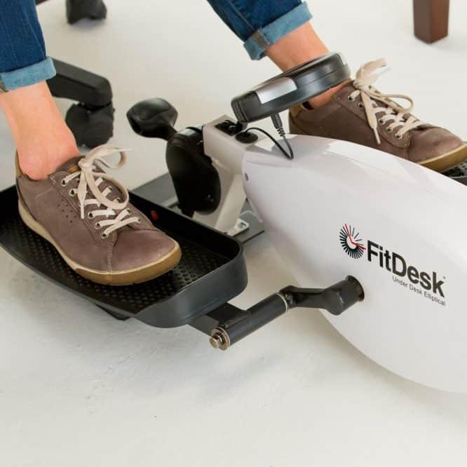 under desk elliptical to get exercise at your desk