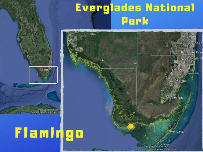 Everglades National Park mapcopy