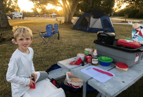 everglades camping